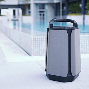Soundcast de best klinkende bluetoothspeaker voor buiten.