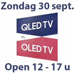 OLED – QLED Show Zaterdag en Zondag