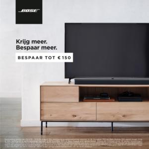 Bose Soundbar + Bassmodule: tot €150 euro korting