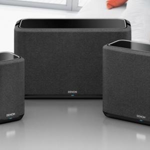 Denon introduceert: Home speakers